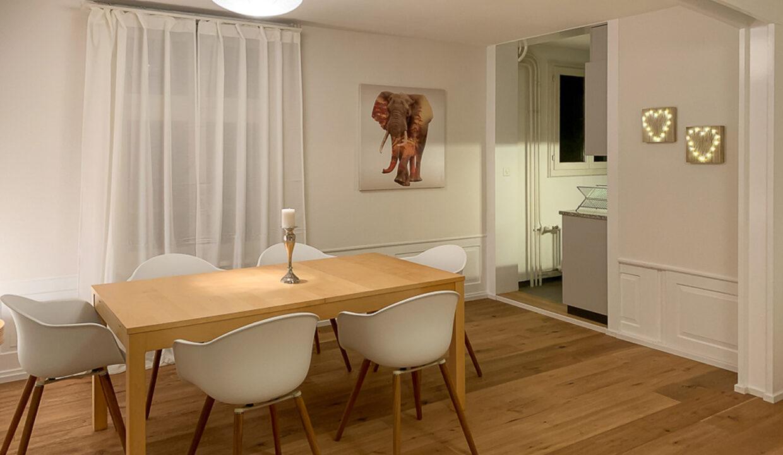 Esszimmer mit Küche W5