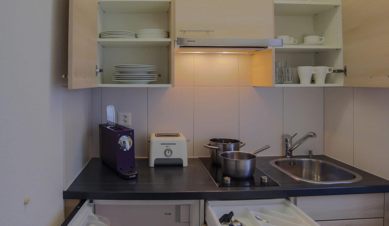 Küche offen