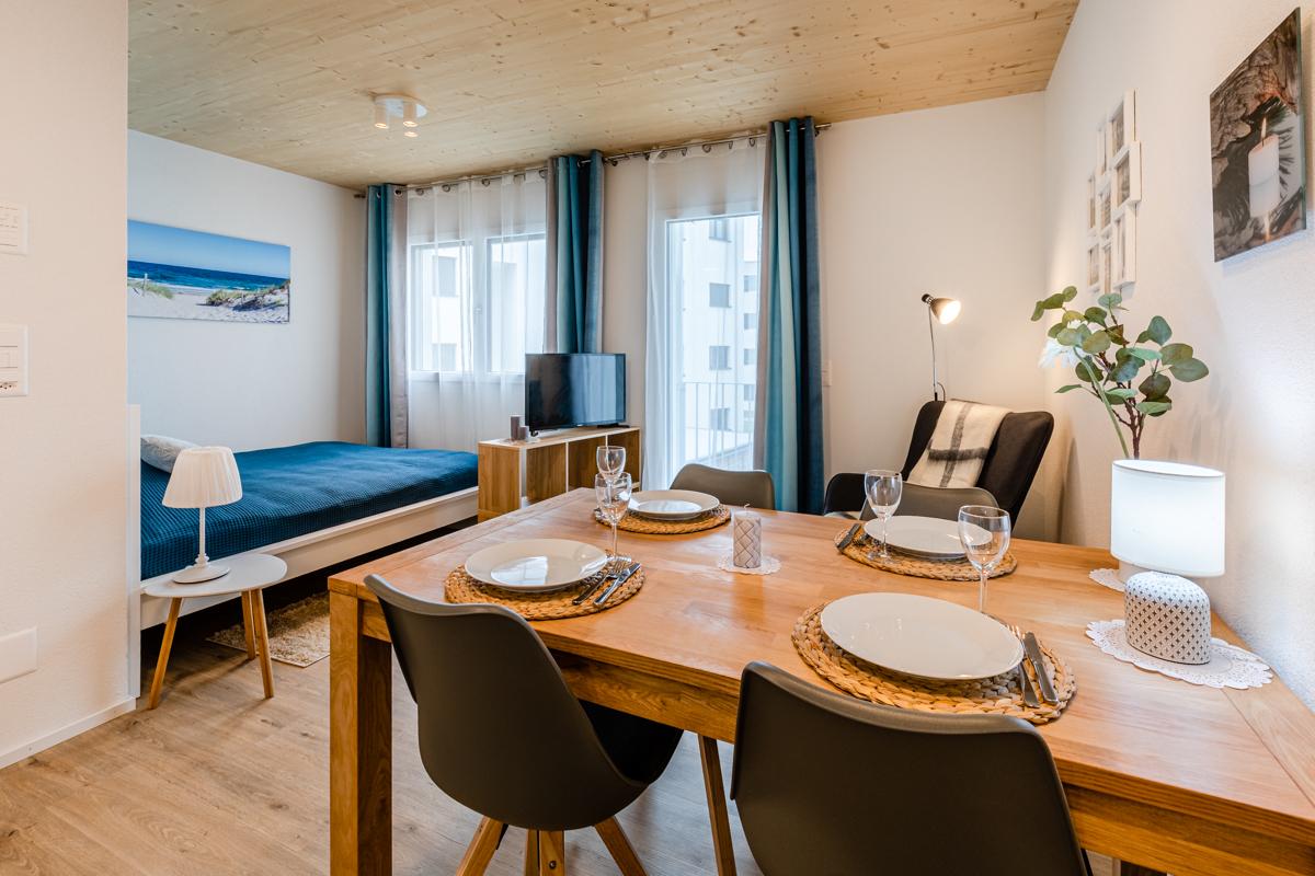 Haus Rebstein, 1.5 Zi. Whg., 9445 Rebstein,  1.OG, Balkon (W22)