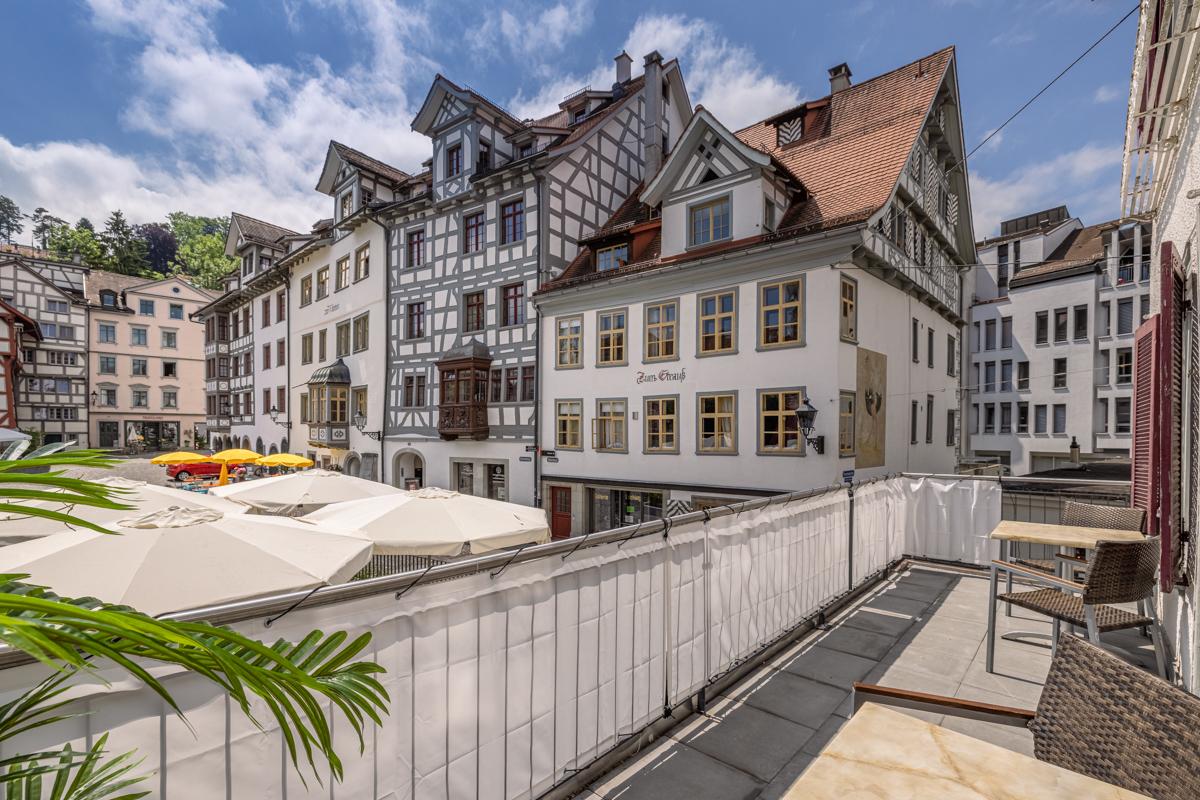 Haus Schwanen, 2.5 Zi.-Whg. Nr. W24, 9000 St. Gallen, 1. OG